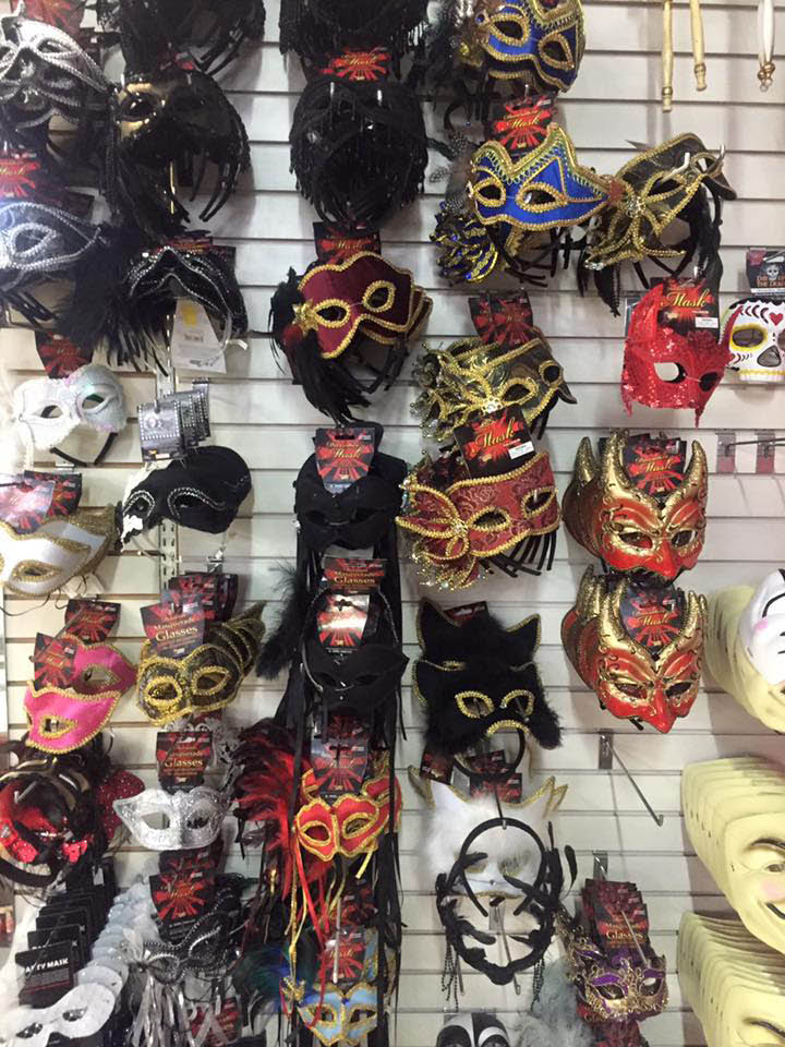 Champion Party Supply - Seattle, WA - huge selection of masks and other costumes and costume accessories