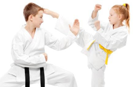 Get self defense classes for your children near Des Plaines