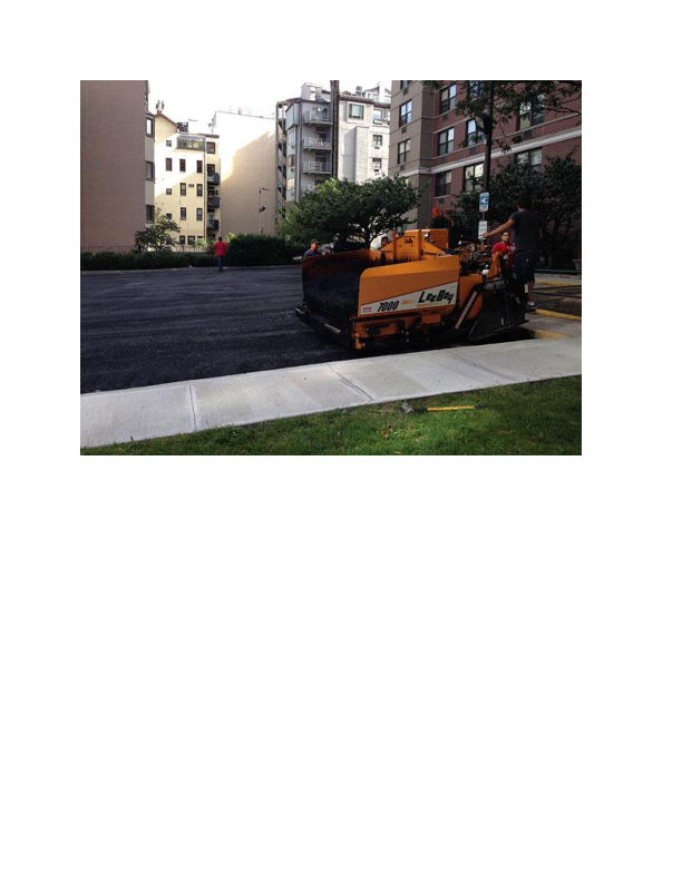 Asphalt paving from Charlie's Paving Inc. in Great Meadows NJ