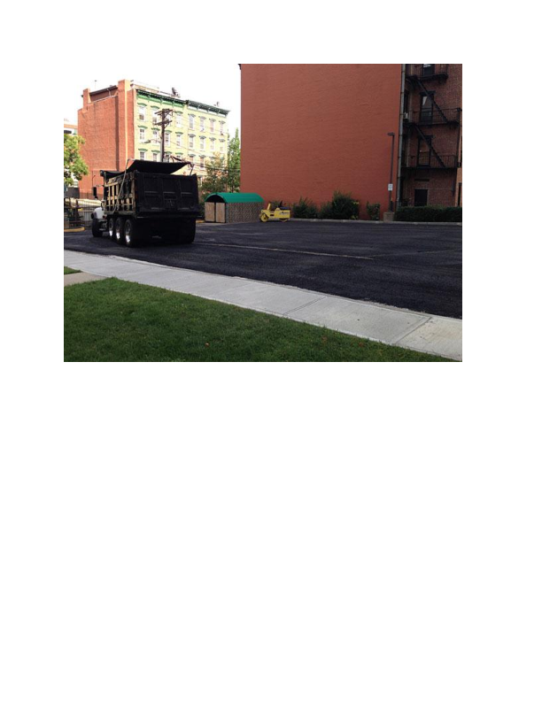 New asphalt job created by Charlie's Paving Inc. in Great Meadows NJ