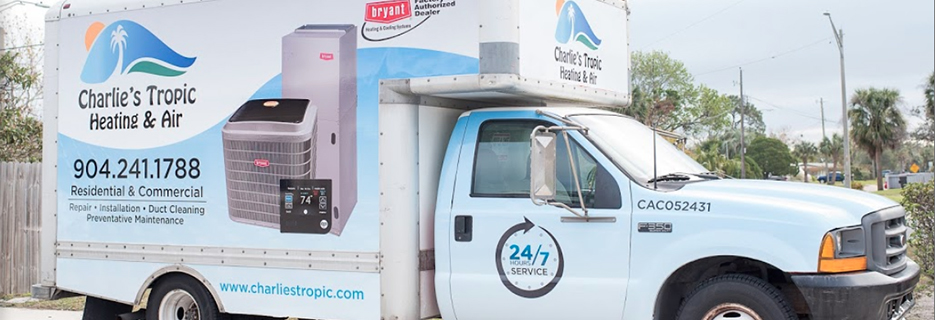 Charlie's Tropic Heating & Air in Florida banner