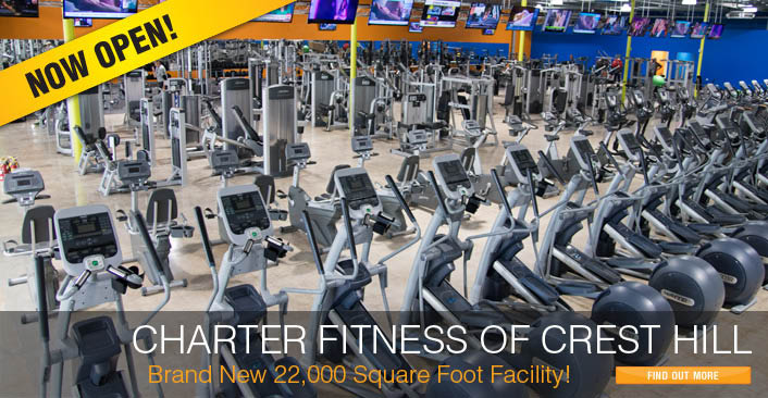 Charter Fitness Gym Center - Your Community. Your Club. Your Wellness.