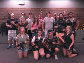 Laser tag group rates in Naperville