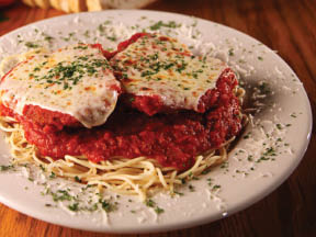 Chelo's famous recipe chicken parmesan