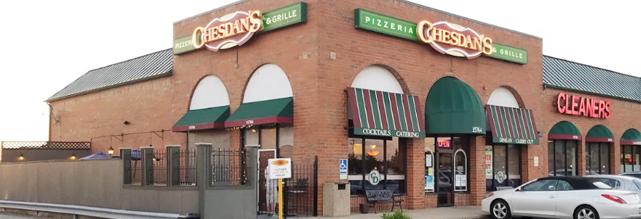 Chesdan's Pizzeria and Grille banner Homer Glen, IL