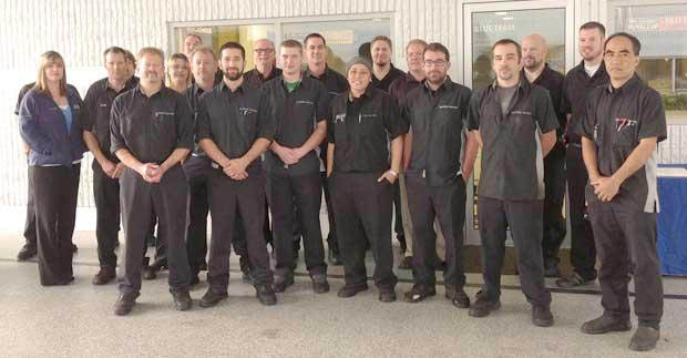 Expert auto technicians at Chevrolet Buick GMC of Puyallup in the Express Service department - we care about your vehicle - auto service near me - auto repair near me