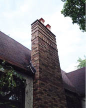 Our skilled technicians can rebuild your old chimney to nearly new again