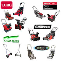 Toro, Honda and many more lawnmower brands carried by Chicago Lawn Mower, Inc.