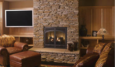 We can completely rebuild fireplaces to update and upgrade a home
