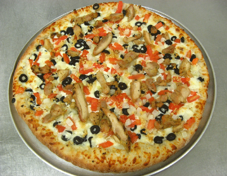 Try a Garlic Chicken Combo pizza at Fatte's at a great price with a Valpak coupon.