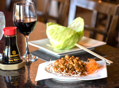 Chicken Lettuce Wrap Rochester NY Red Sun Chinese Cuisine