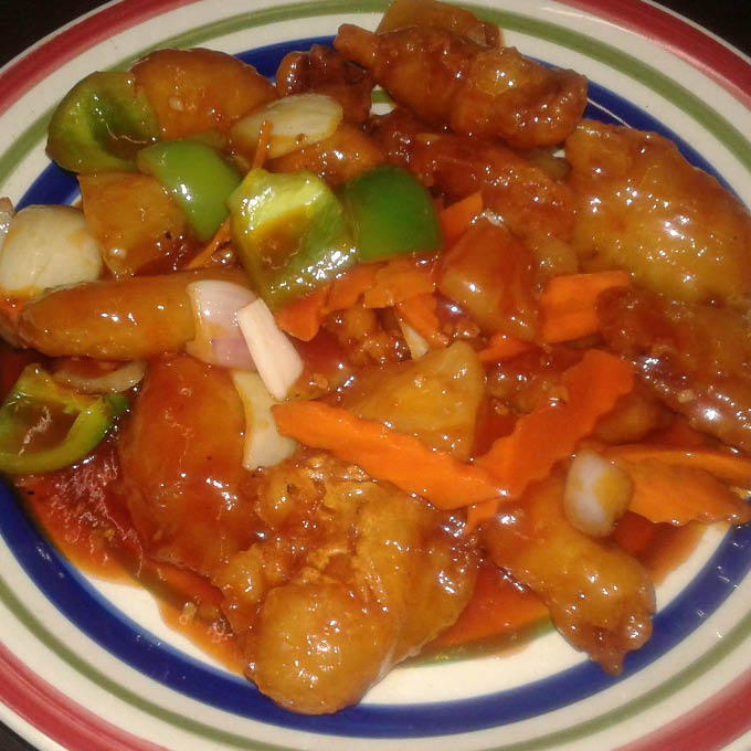 Delicious Sweet and Sour Chicken near American Canyon, CA