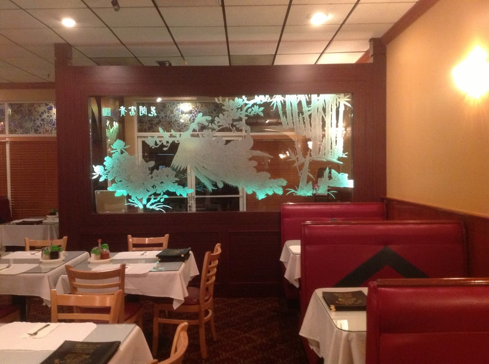 China Legend in Santa Rosa, CA intimate and elegant restaurant interior