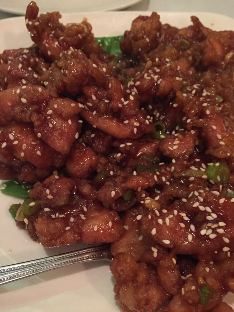 The General's Chicken dish from China Legend in Santa Rosa, CA