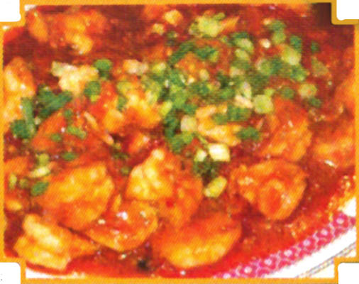 sweet and sour shrimp; Chinese food in Des Moines
