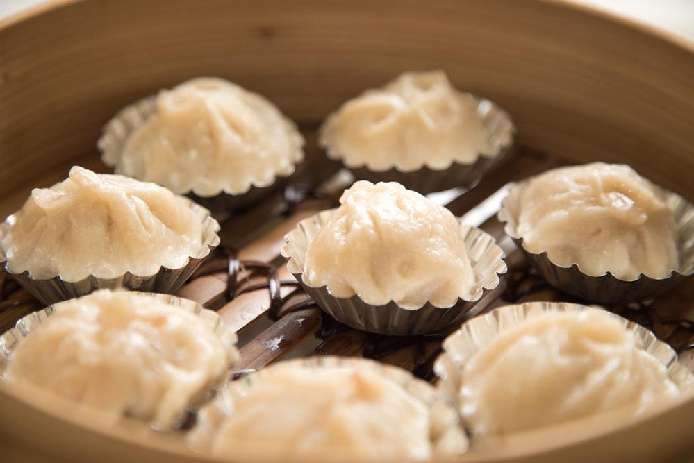 China Village in Cotati Shanghai steamed dumplings