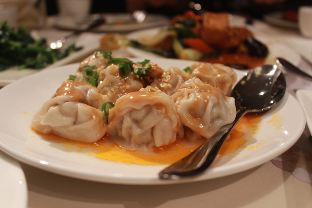 Spicy wontons from China Village