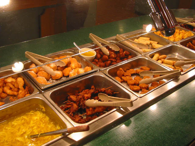 chinese buffet asian food