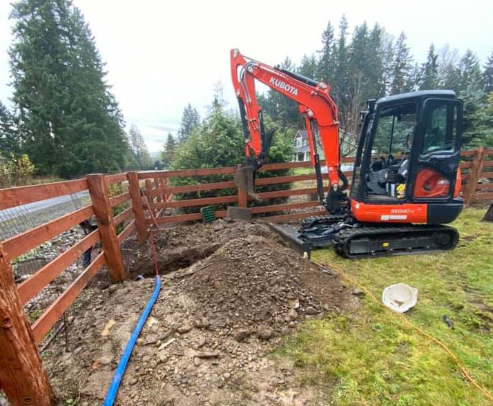 Land excavation companies- excavating land - Choice Residential Construction & Services - Orting, WA - let us clear your land for your building project - home improvement companies - land excavation services