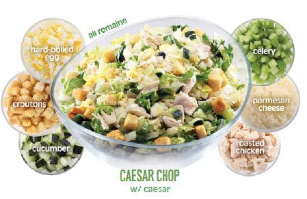 Caesar salad near Pasadena