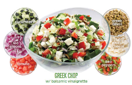 Greek salad near Burbank