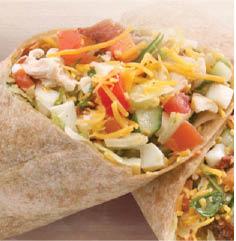 Chicken wraps and healthy food near Glendora