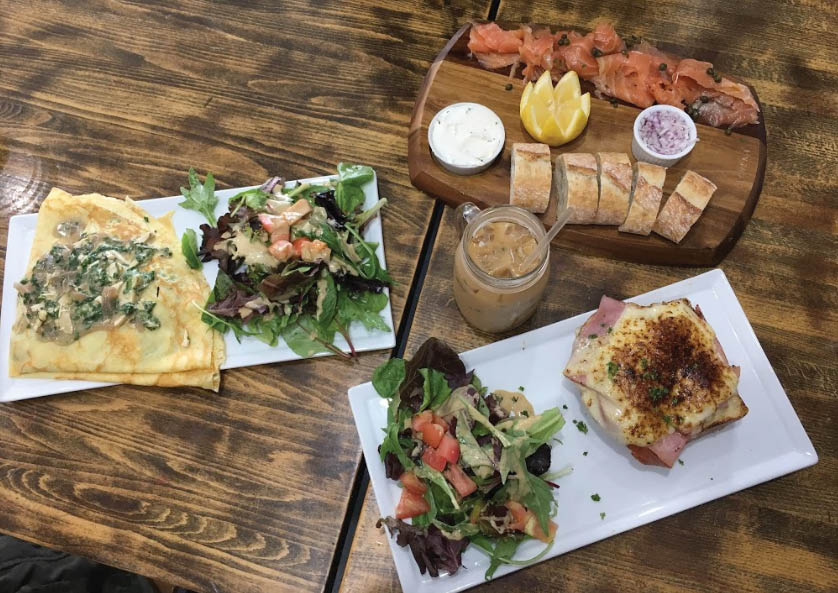 French bread and other French food near West Los Angeles