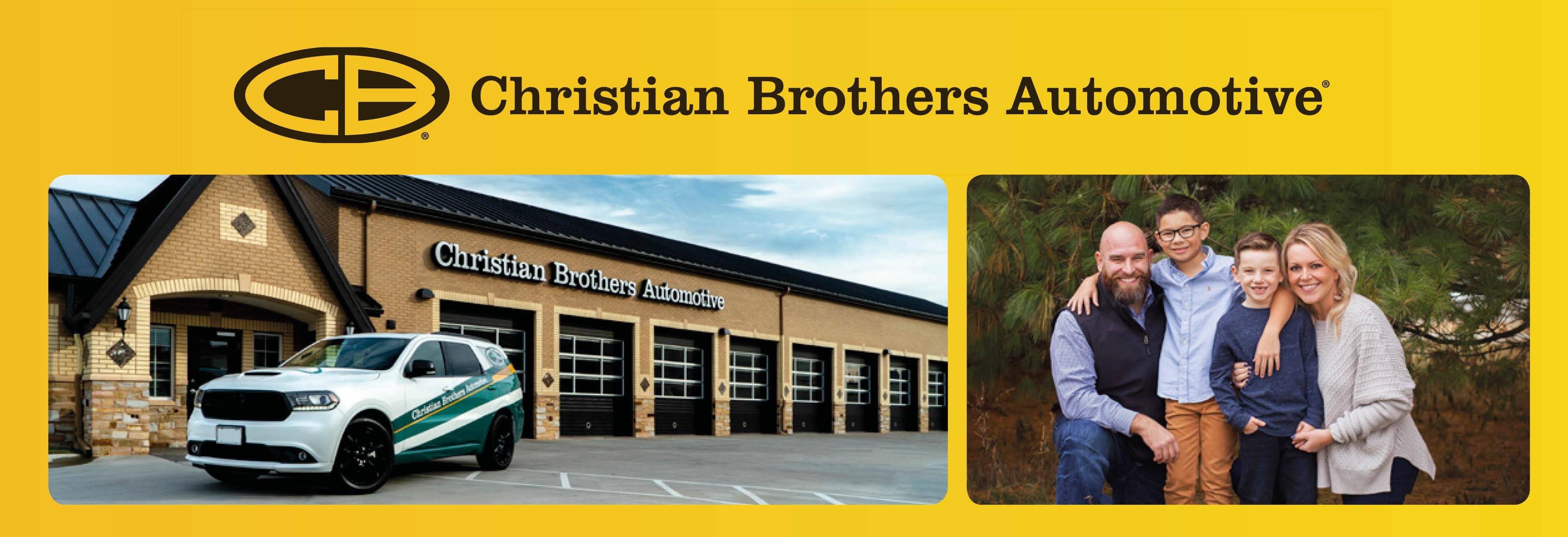 christian brothers automotive family business logo clive iowa