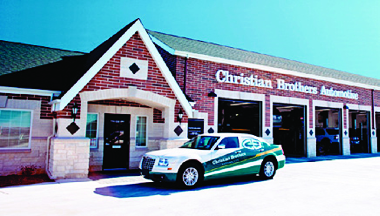 CHRISTIAN BROTHERS AUTOMOTIVE FRONT OF STORE PICTURE tires oil car repairs auto repairs drivetrain suspension drive train