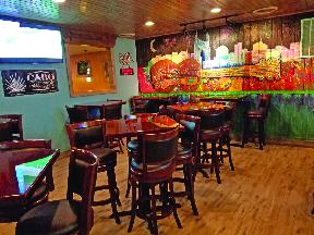 Cilantro Mexican Grill Restaurant interior