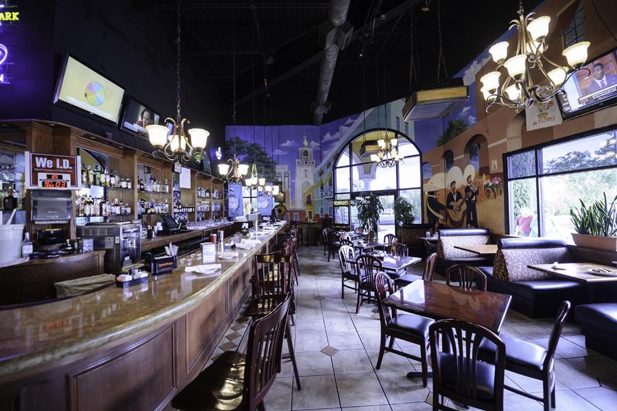Warm, casual Mexican-themed Cilantro's Mexican Grill interior
