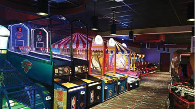 Arcade at Circle Bowl & Entertainment in Ledgewood NJ