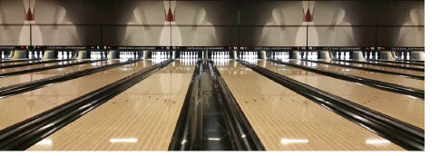Bowling alley at Circle Bowl & Entertainment in Ledgewood NJ