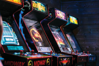 Classic arcade games near Charleston, SC