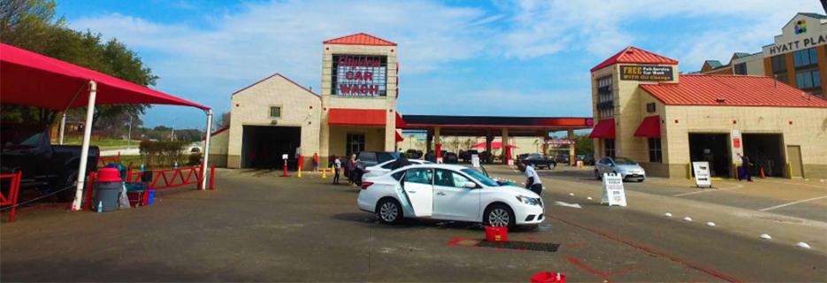 Cityview Car Wash & Oil Change banner Fort Worth, TX