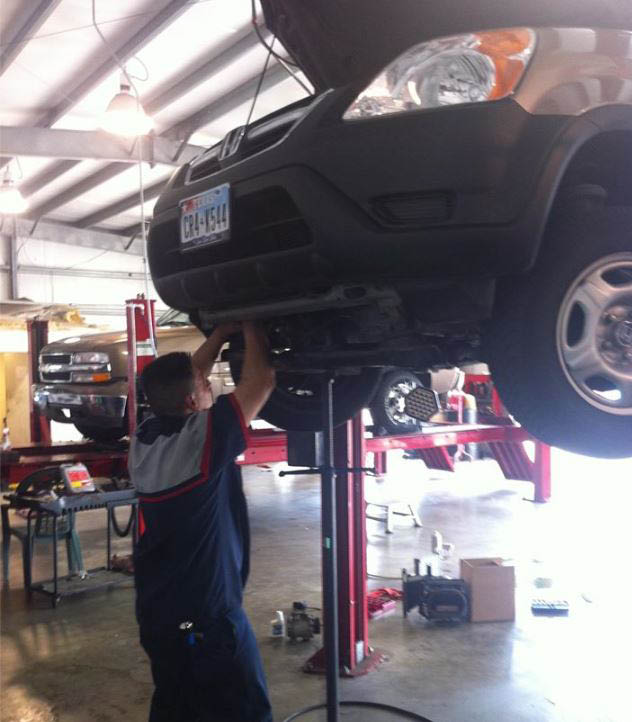 Let Classic Lube check your car's undercarriage for signs of wear or fluid leakage