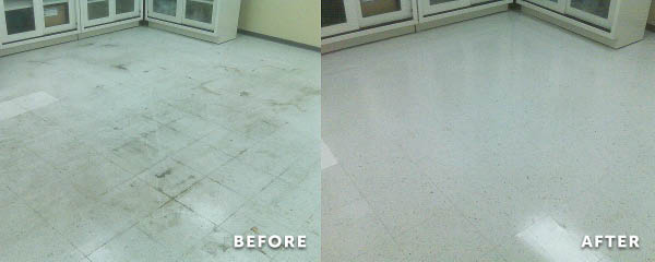 commercial floor cleaning, building cleaning services,