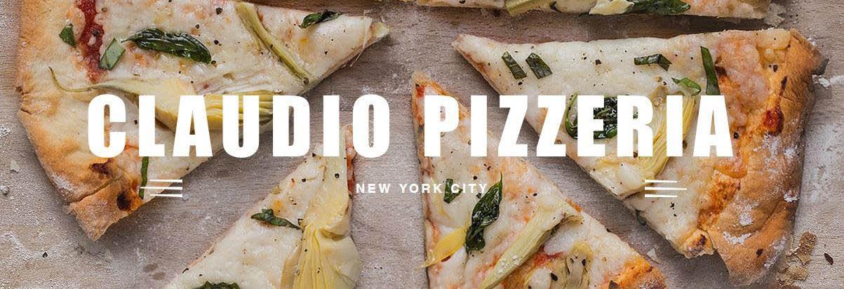 Claudios Pizzeria in Manhattan, NY Banner ad