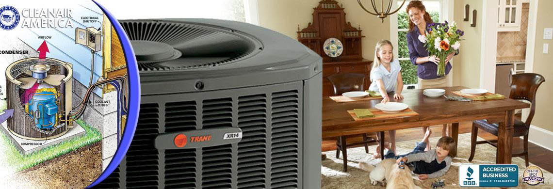 Trane whole house air conditioning systems keep your family in comfort banner
