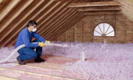 Spray in attic insulation will make your home more energy efficient