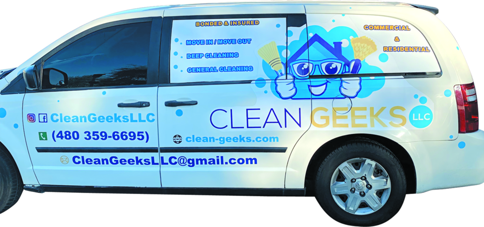 Clean Geeks vehicle
