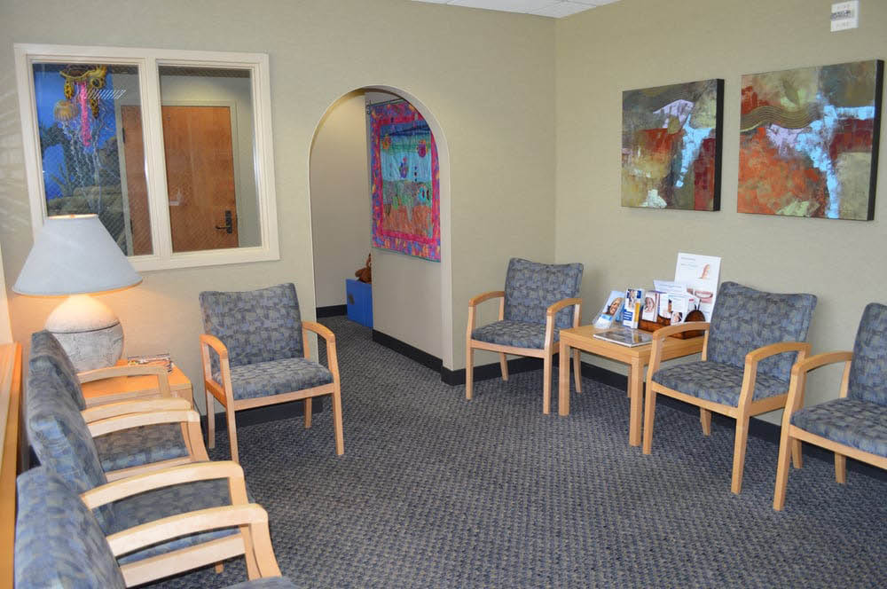 Waiting room of Clearview Family Dentistry in Snohomish, Washington - dental office - Snohomish dentists