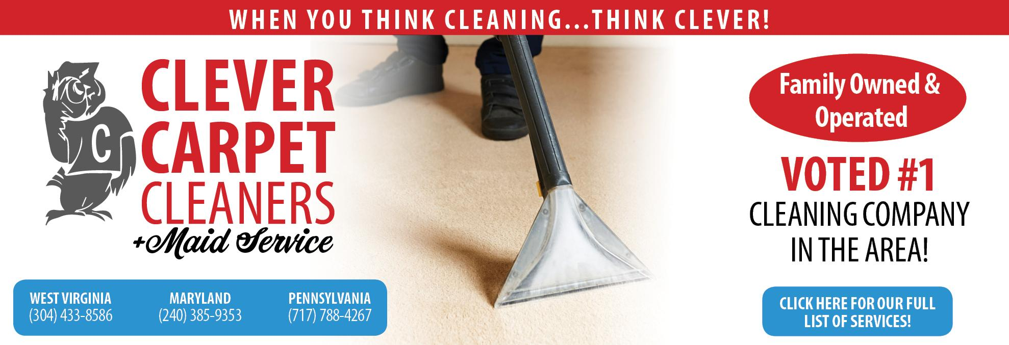 Clever Carpet Cleaning & Maid Service, Cleaning Service, House Cleaning, Carpet Cleaning