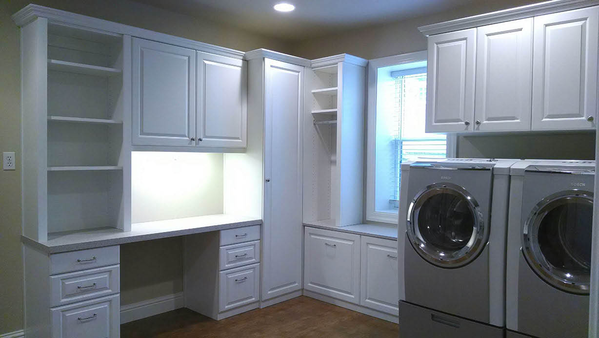 Laundry Room organizational solutions in Fairfax, CA