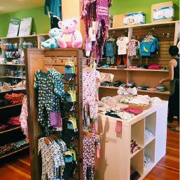 Ecofriendly children's clothing store