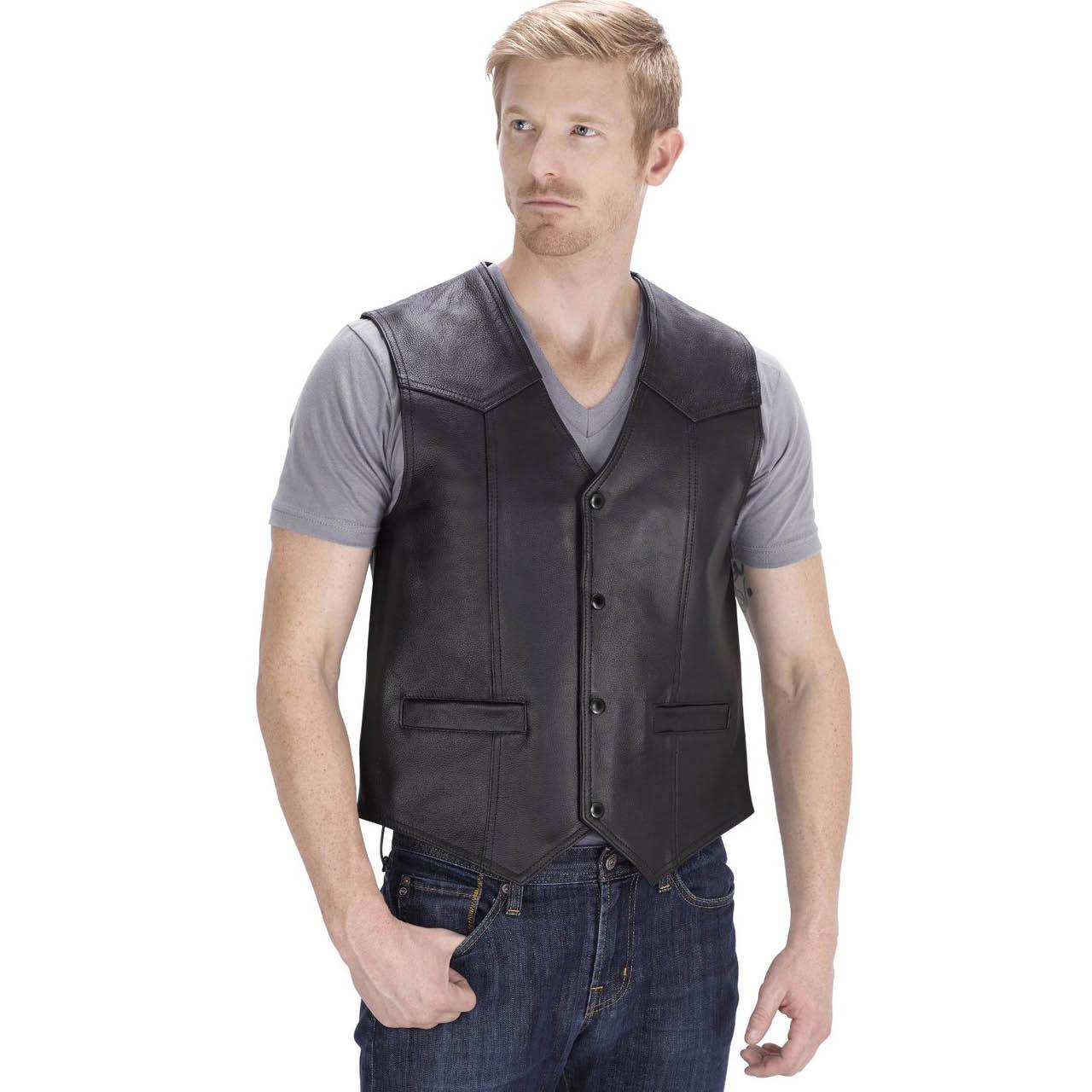 Leather vest near Fremont, CA