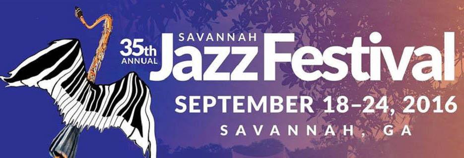 Savannah Jazz Festival; September 2016; Coastal Jazz Association