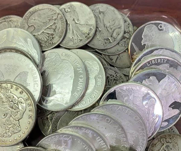 Loans on valuable old silver coins
