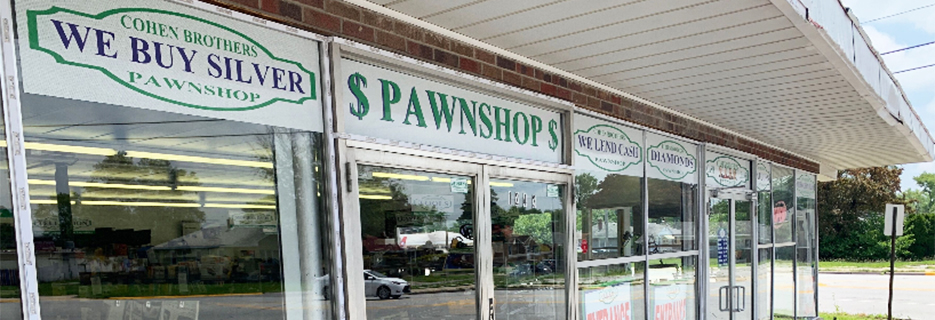 Cohen Brothers Pawn Shop in Calumet City banner