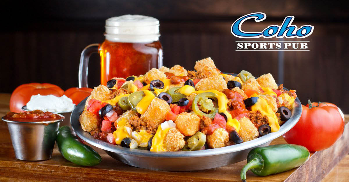 Coho Sports Pub - great food - great fun - watch your favorite sports on our big screen TVs - inside Nisqually Red Wind Casino in Olympia, WA